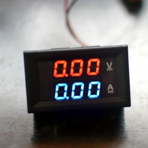 Led feszültség - áram mérő