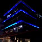 5050 60 led kék blue