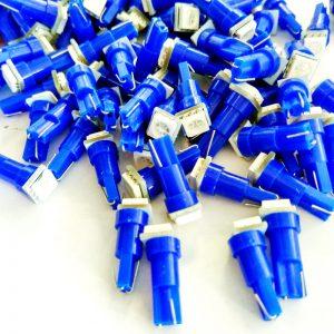 t5 led izzó kék